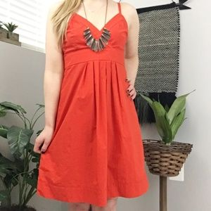 Theory cotton v-neck summer dress 2